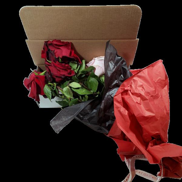 Fuck Valentines Day Dead flower box