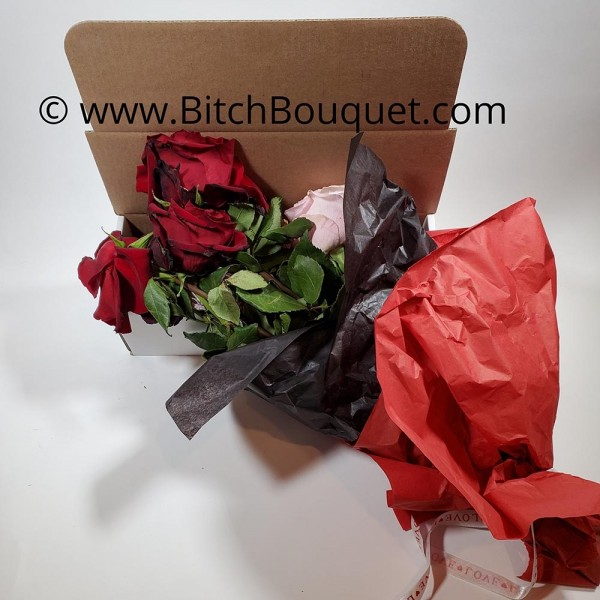Fuck Valentine Dead Flower Box